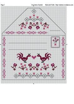 Point de croix m@ Cross stitch