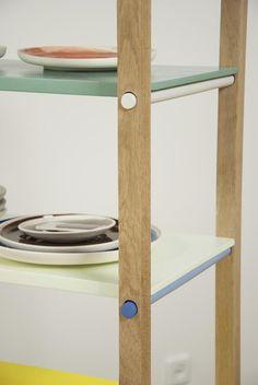 servieskast Elke van den Berg - 3xLOCATIE DDW12 = Galerie Nasty Alice