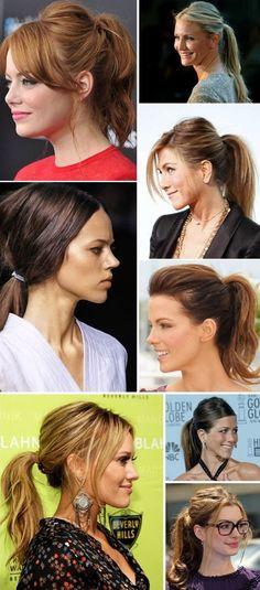 15. #célébrité Ponytails - 19 #Ponytails gonflés à Pep up Your #Style... → Hair