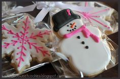 O So Sweet Cookies: Christmas....beautiful frosted cookies for every holiday