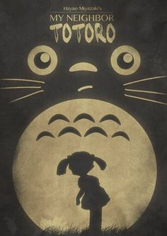 Cartel de Totoro