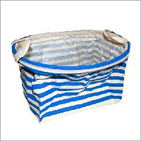 Buy Cotton Display Basket - Oval - Blue wholesale at ancientwisdom.biz These wholesale reinforced cotton baskets are designed for anyone really ...florists, farm shops, gift shops, market stalls...Basket has a cotton handles and is is great for anything from magazines and towels to toys or spare loo rolls. However when we were designing them we though about our Bath Bombs and most Bathroom Heaven products really ...see pictures :) #Wholesale #Ancientwisdom #Displaybasket