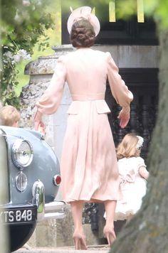 La duchesse Catherine de Cambridge au mariage de Pippa Middleton à Englefield, le 20 mai 2017 - Agence / Bestimage