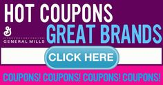 Click here for Hot Coupons on Cheerios, Pillsbury Baked Goods and more!