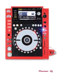Lego x Pioneer CDJ2000? Yes please! via Pioneer DJ Art Mix