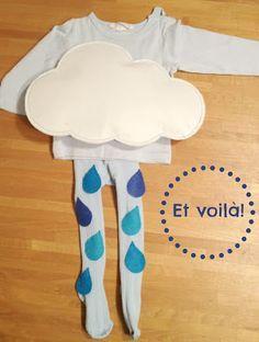 De puntadas y otros enredos: Disfraz de lluvia