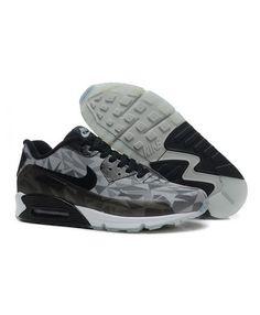 c4a107ad54945 Nike Air Max 90 Mens Hyperfuse Prm Anniversary Black Trainer Nike Air Max  Noir, Nike
