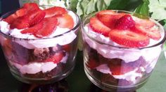 Easy Strawberry Cheesecake Trifle.Looks yummy.Please check out my website thanks. www.photopix.co.nz