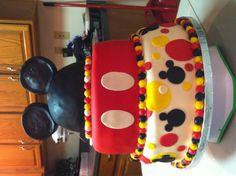 Mickey birthday cake