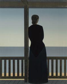 inland-delta:   Will Barnet, Woman by the sea,... - Una Lady italiana