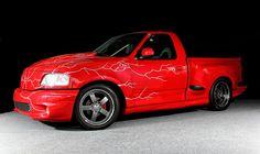 Ford Lightning, Ride The Lightning, Ford Trucks, Pickup Trucks, F150 Lifted, Ford Svt, Fords 150, Muscle Truck, Svt Raptor