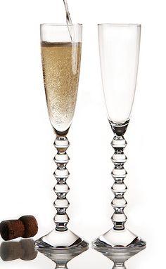 Baccarat Vega Flutissimo, Clear. Disponível em : http://www.domi.com.br/taca-champagne-vega-clear---baccarat-20206.aspx/p