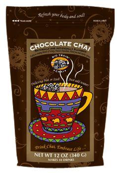 Chocolate Chai Tea mix powder 12 oz retail bag | Big Train