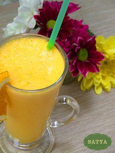 Lassi de portocale Lassi, Fondue, Menu, Pudding, Vegetarian, Ethnic Recipes, Desserts, Photos, Menu Board Design