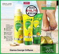 €33,00 €10,75  Εμπλουτισμένα με θρεπτικό μάνγκο & αναζωογονητικά εκχυλίσματα ginseng ,το προϊόν Απολέπισης .η κρέμα & το Spray  βοηθούν τα πόδια σας να αισθάνονται τέλεια ,περιποιημένα ,γεμάτα φρεσκάδα και όμορφα όλο το καλοκαίρι.  Περιλαμβάνει:  Spray Ποδιών με Μάνγκο & Ginseng feet Up Mango Infusion-36192 Κρέμα Ποδιών με Μάνγκο & Ginseng feet Up Mango Infusion-34933 Προϊόν Απολέπισης Ποδιών με Μάνγκο & Ginseng feet Up…-34934 Sparkling Ice, Coconut Water, Mango, Bottle, Manga, Flask