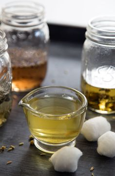 DIY: 5 herbal tea facial toners