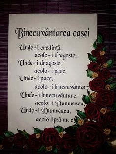 Binecuvantarea Casei - Binecuvantarea casei Good Life Quotes, Best Quotes, Love Quotes, Jesus Loves You, God Loves Me, Spiritual Life, Spiritual Quotes, Bible Verse Wall Art, Bible Verses