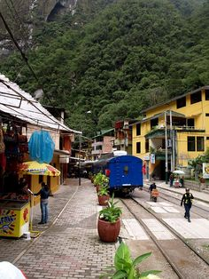Aguas Calientes, near Machu Picchu, Peru