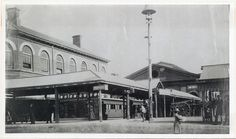 Sydney Railway Station - the second 1874 Sydney Railway Station Terminus also known as Redfern.