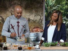 David Alan Grier and Queen Latifah cooking in the Queen's Kitchen!