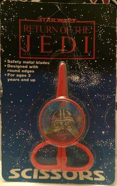 (TAS032275) - 1983 Hasbro Star Wars Return of the Jedi Scissors