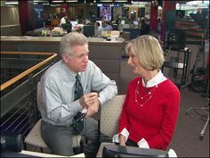 Kathi Goertzen discusses her upcoming surgery with old friend and co-anchor Dan Lewis.
