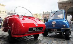 originally manufactured in 1962, the 'P50' by british engineering company peel continues to hold the world record   for the smallest production automobile, and the company has begun a limited edition run of its 'P50' and 'trident' models