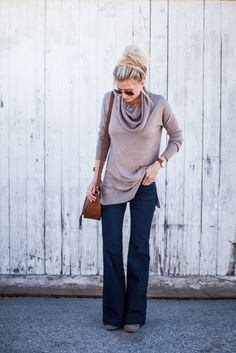 CAMEL COWL NECK SWEATER | FLARE JEANS | BOOTIES | SIMILAR COGNAC SADDLE BAG(SPLURGE VERSION)| RAY BANS | SIMILAR WATCH | SIMILAR BRACELET | EARINGS all photography byKendra Maarse Every fall I am always on the lookout for the perfect sweater. I don't know about you, but I feel like sweaters can be tricky. A …