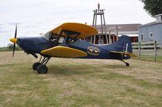 1978 Miller C Cabin Biplane