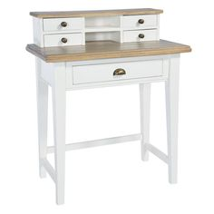 french country writing desk by the orchard furniture | notonthehighstreet.com