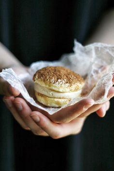 Tiramisu Ice Cream Sandwiches | @andwhatelse