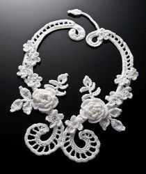 Irish filigree necklace which my cousin made (designed by Annie Potter) - totally inspired! Very pretty!!