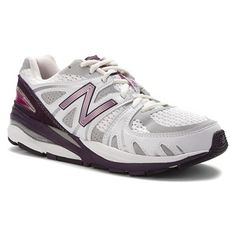 New Balance - W1540 White/Purple $160. The New Balance W1540 is a premier heritage motion control trainer developed to deliver the ultimate in comfort and control. This women's shoe features a synthetic and mesh upper for lightweight comfort and support, with a polyurethane insert and ABZORB® cushioning for extra comfort. The Rollbar® posting system offers superior motion control, as the Ndurance® blown rubber outsole provides reliable traction to the New Balance 1540 performance shoe.