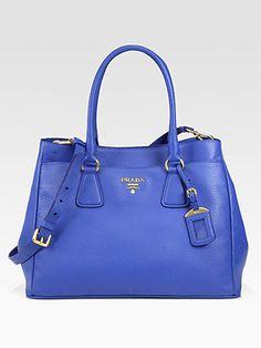 #Prada Daino East West Tote #Trend Cobalt Blue