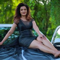 Beautiful Girl In India, Beautiful Dresses, Stylish Girl, Stylish Outfits, Rose Actress, Megha Akash, Girl Number For Friendship, Honey Rose, Actress Navel