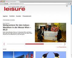 Eine durchwegs auch mobile Zielgruppe erreicht die PR-Agentur leisure communications mit dem neuen Webauftritt im responsive Webdesign von echonet - optimal, damit Infos auch immer zur Hand sind.  http://www.echonet.at/de/projekte/351/Leisure-Group#