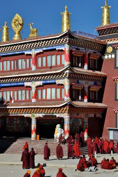 Temple at Lurang Gar Tibet