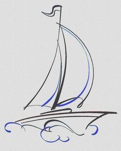 tattoo sailing boat - Cerca con Google
