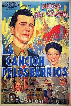1941 - LA CANCION DE LOS BARRIOS - Luis César Amadori