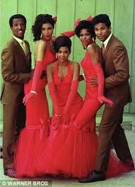 Cast from the original Sparkle - Dorian Harewood, Lonette Mckee, Irene Cara, Dwan Smith and Phillip Michael Thomas  1976.