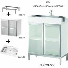 Chic Ikea Lillangen Sink Base
