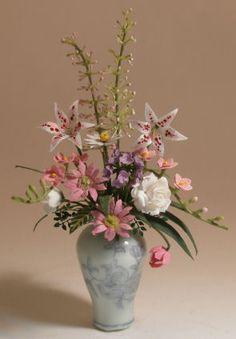 Flower Arrangement #520 by Christine Dell'Anna