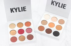 Review of the Burgundy + Bronze Kyshadow Palettes from Kylie Cosmetics!