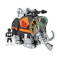 Fisher-Price Imaginext Power Rangers Black Ranger and Mastodon Zord