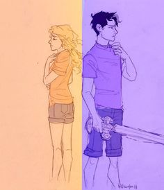 Always breaks my heart when they show Percy after he lost his memory.