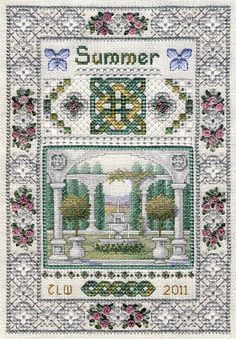 Miniature Summer Sampler by Teresa Wentzler