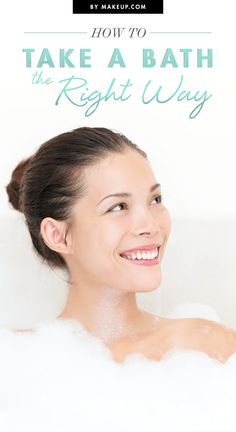 A bath is an easy way to relax and destress after a long work day. Grab a book, your favorite scrub and a few candles to complete your at-home spa. Just make sure you're taking a bath the right way. Here are a few tips and tricks you might not know about taking a bath!