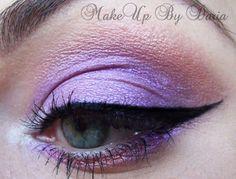 Purple & peach http://www.makeupbee.com/look.php?look_id=71557