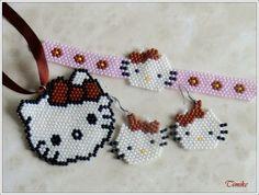 Peyote Patterns, Beading Patterns, Hello Kitty Crafts, Beading For Kids, Peyote Beading, Beaded Jewelry Patterns, Beaded Animals, Native American Beading, Seed Bead Jewelry