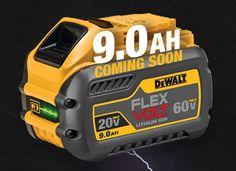 DeWalt tools new flew volt battery Dewalt Cordless Tools, Dewalt Power Tools, Cool Tools, Diy Tools, Hand Tools, Dremel 4000, Garage Atelier, Mobile Workshop, General Construction
